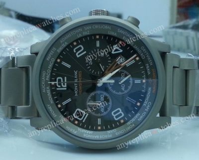 Montblanc TimeWalker World-Time Hemisphere Gray Case